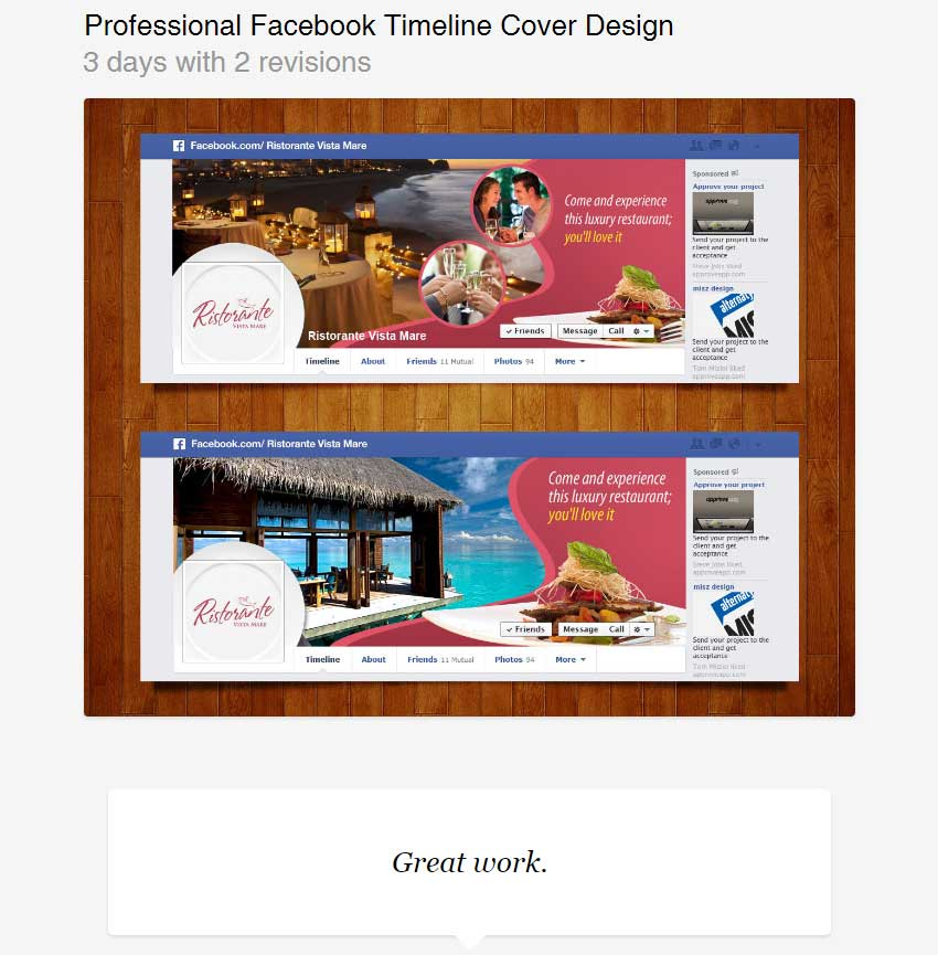 Professional Facebook Timeline Cover Design by sudiptaexpert