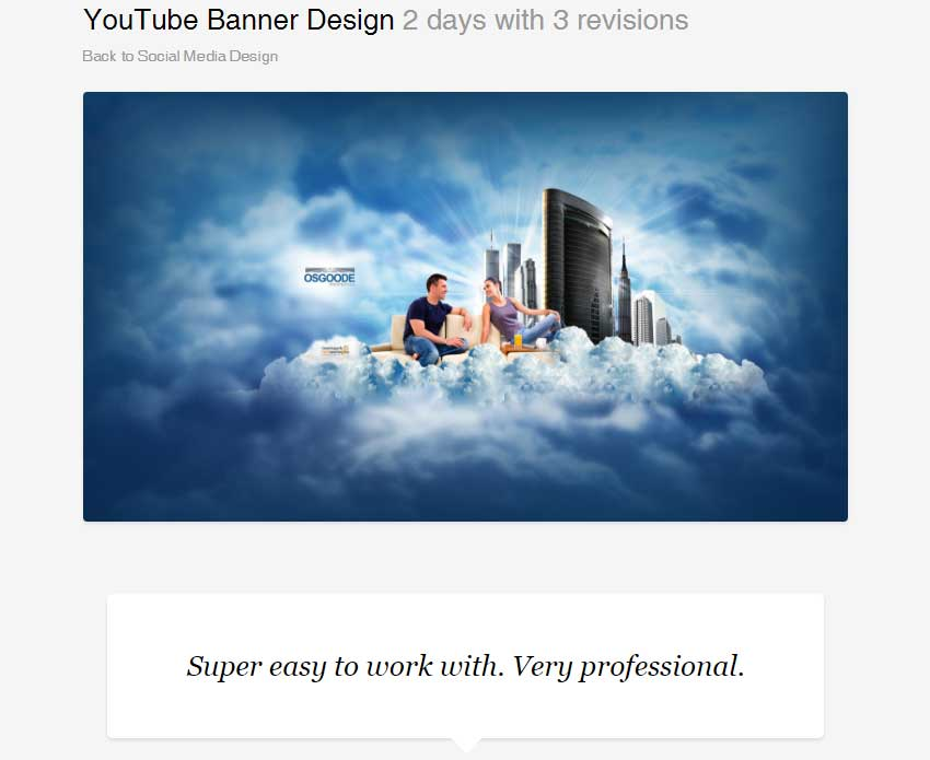 YouTube Banner Design by BannerDesignCo
