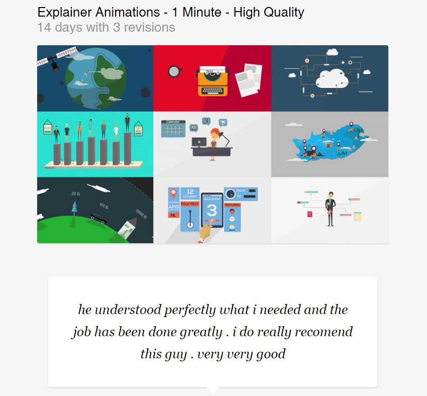Explainer Animations - 1 Minute - High Quality by AfterEffectsVideos