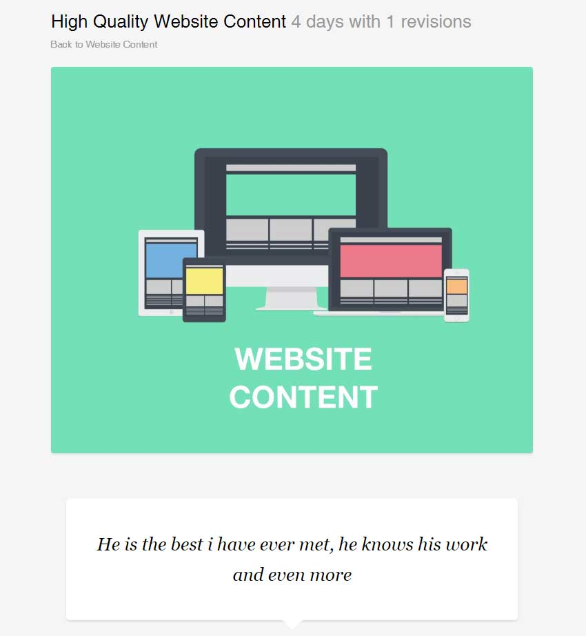 High Quality Website Content - Five Pages by ashleigh_julia