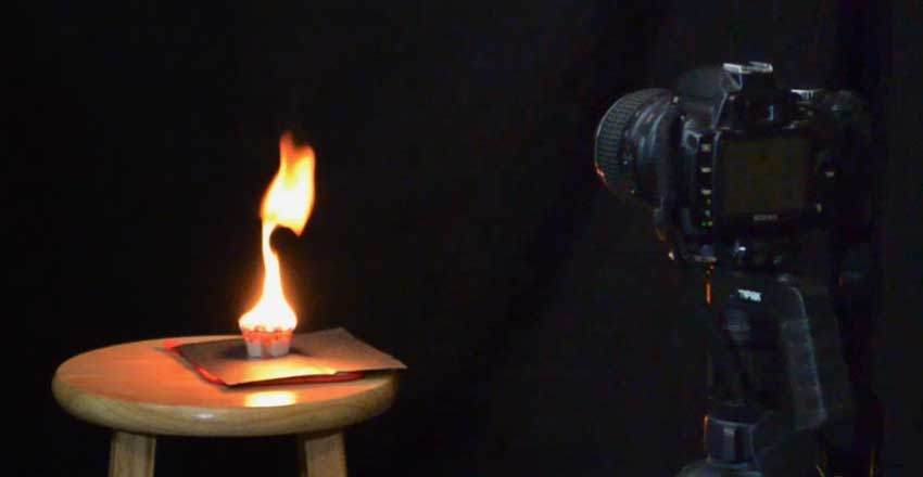 Set the camera on a tripod