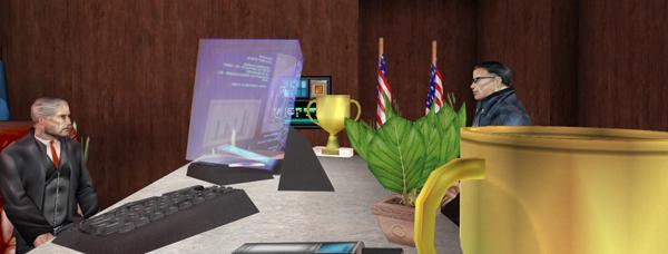Deus Ex Revision Desk full of detritus