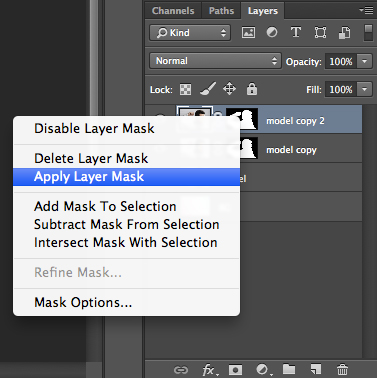 how to get a nice smooth edge on photoshop