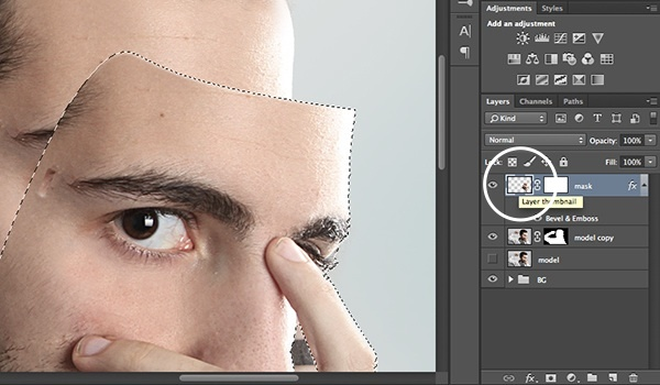how to create an opacity mask in photoshop