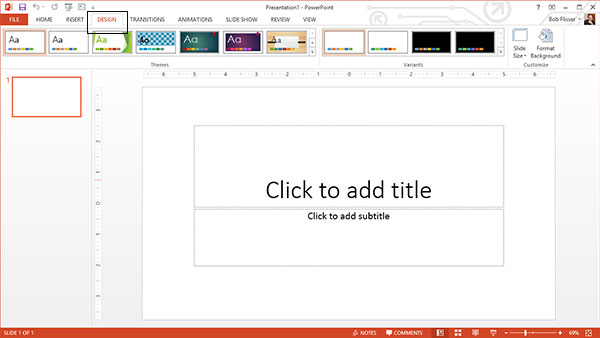 Powerpoint 101 everything you need to make a basic presentation formatting a powerpoint slide toneelgroepblik Images