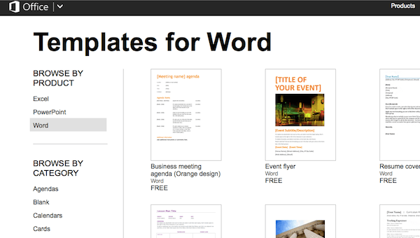 word document brochure template - how to get microsoft office for free