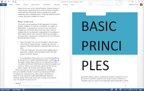 Word 2013 PDF Import