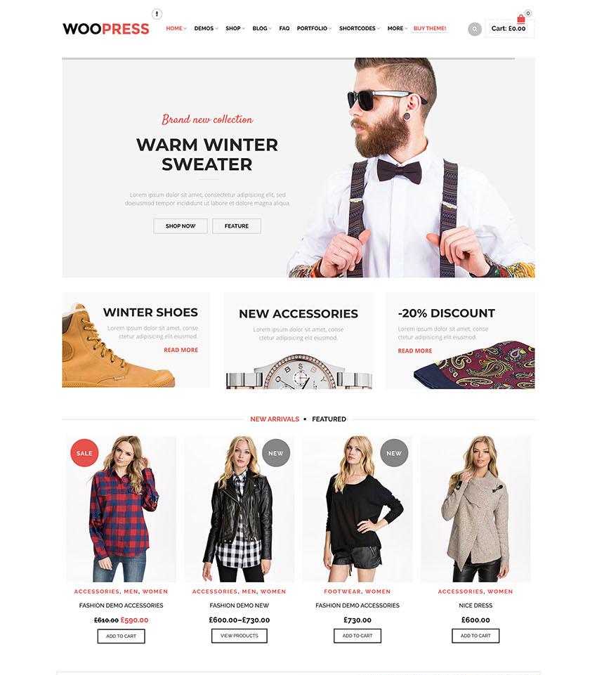 WooPress WordPress Theme