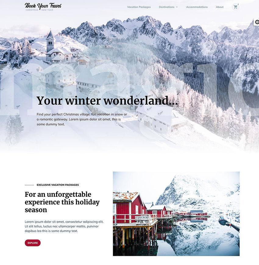 Book Your Travel - Tema de WordPress para la reserva online de habitaciones de hotel