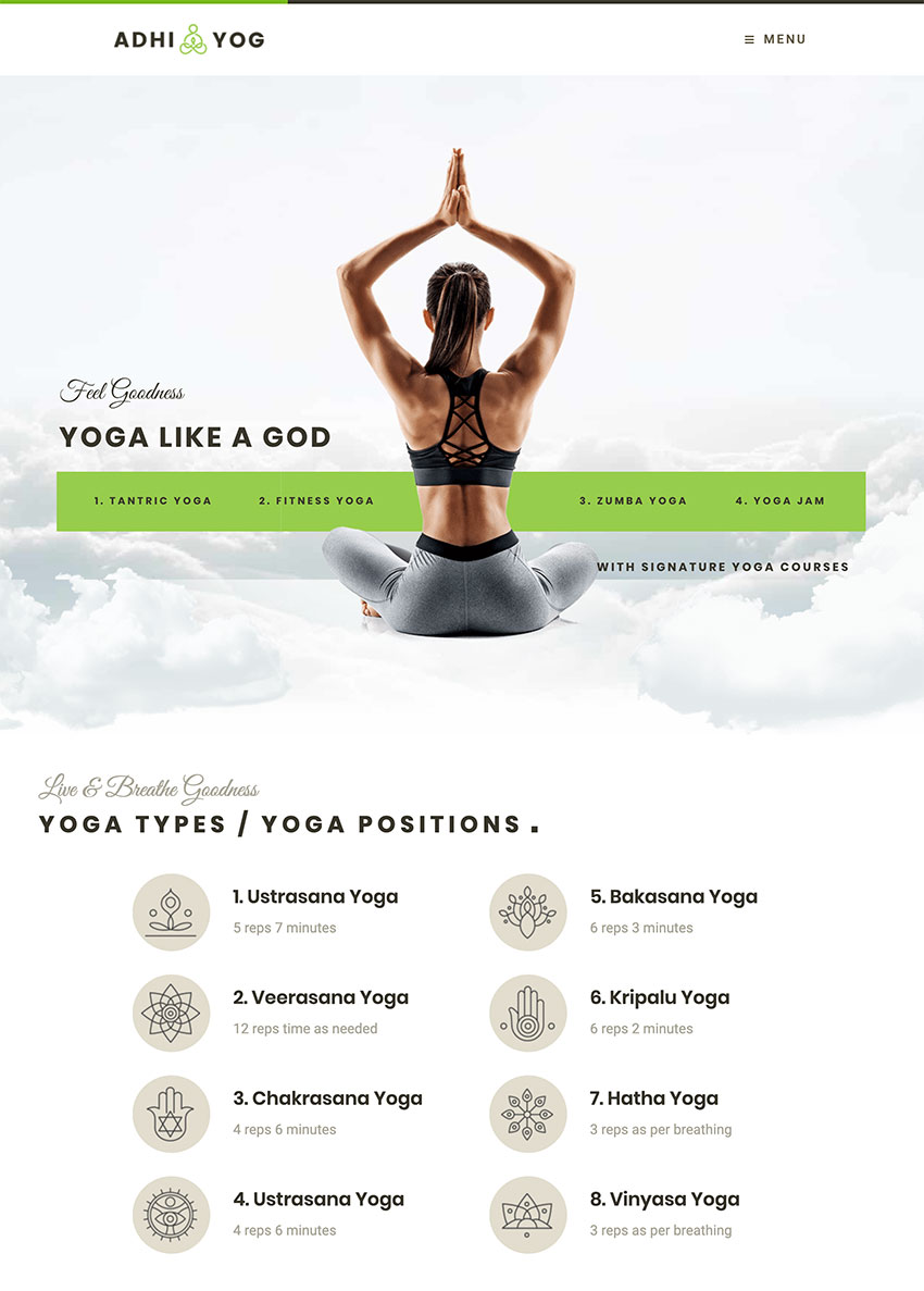 Adhi Yoga  Lifestyle  Wellness