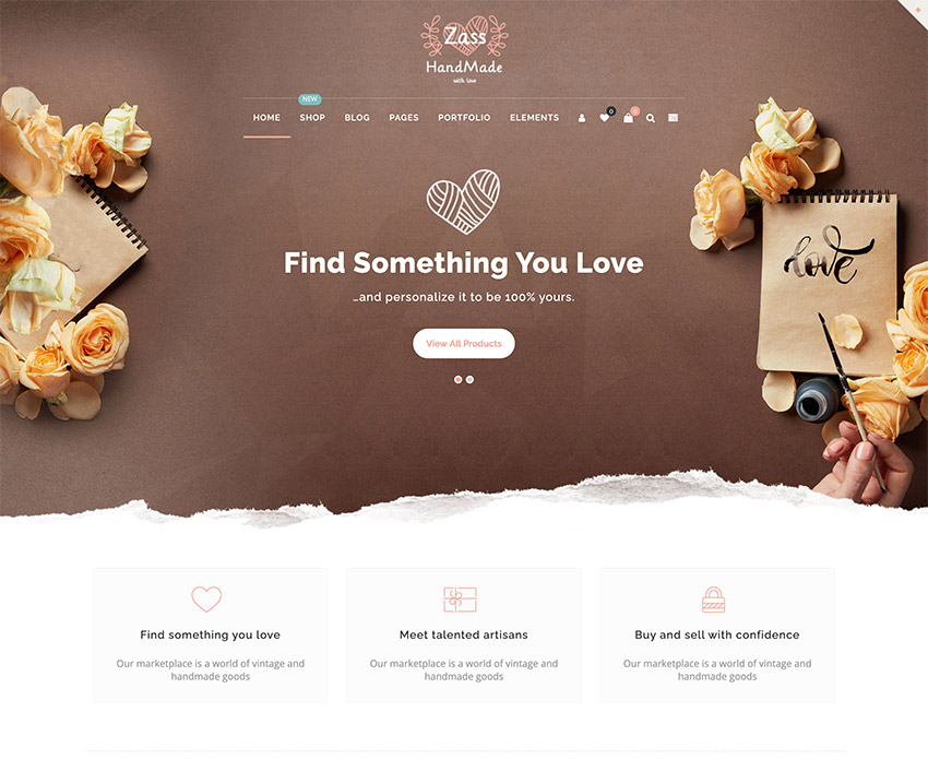 Zass - WooCommerce Theme for Handmade Artists and Artisans