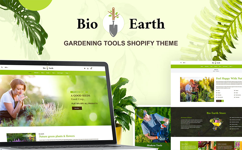 Bio Earth - Landscaping  Gardening Services Shop