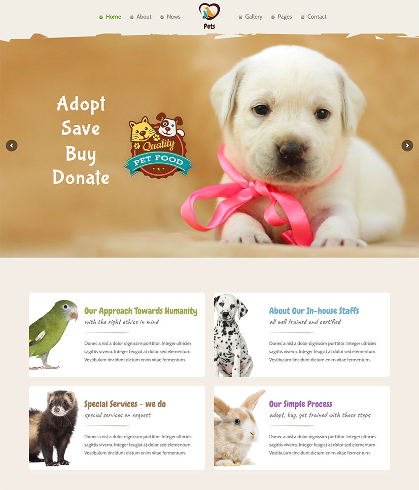Pet World - Dog Care  Pet Shop