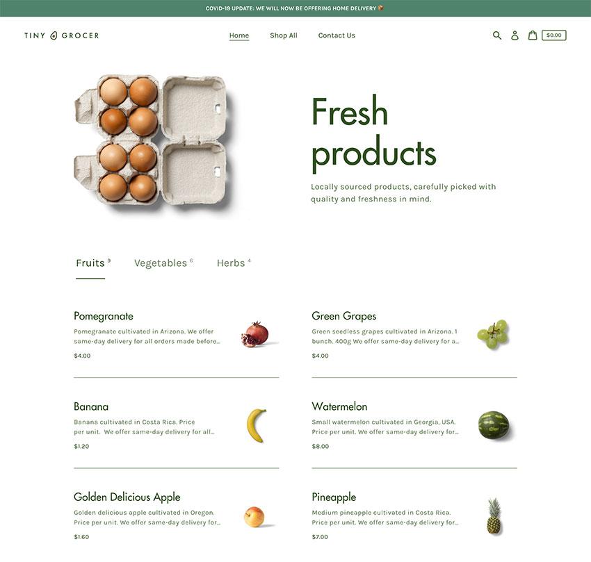 Express Free Grocery Shopify Theme