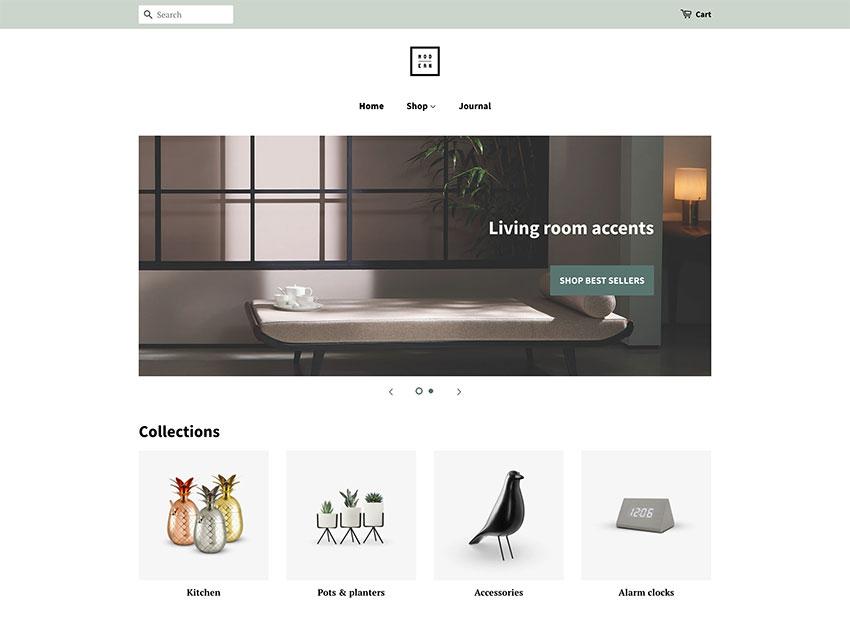 Minimal Free Grocery Shopify Theme