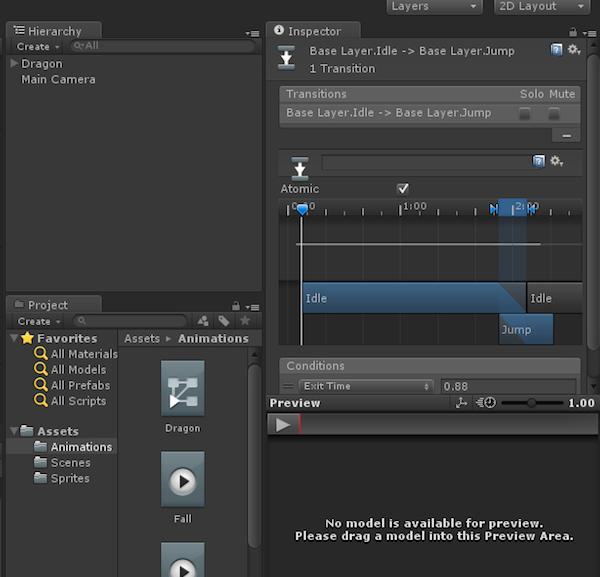 Bone-Based Unity 2D Animation: Mecanim and Scripting