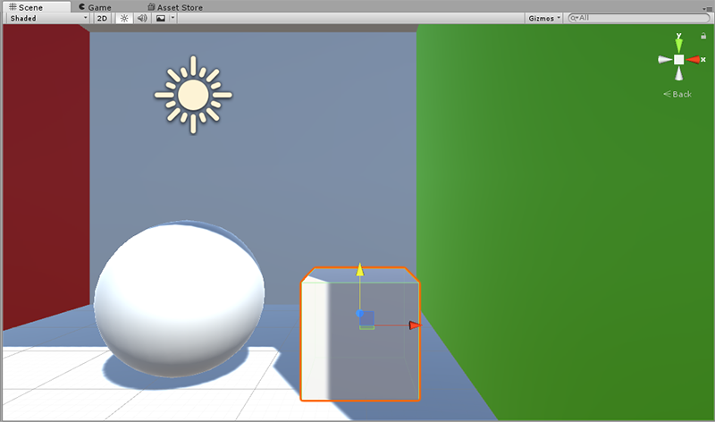 Global Illumination - Box mesh