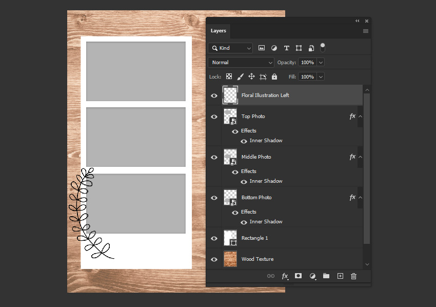 photoshop paste image