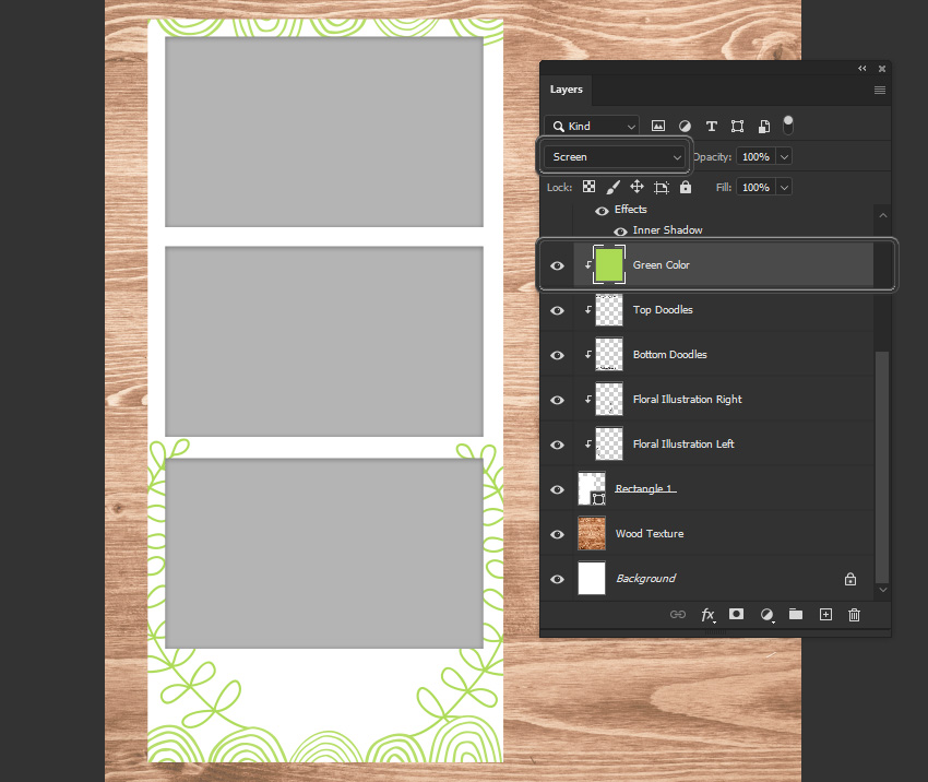 photoshop layer blending mode