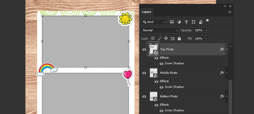 add image to smart object