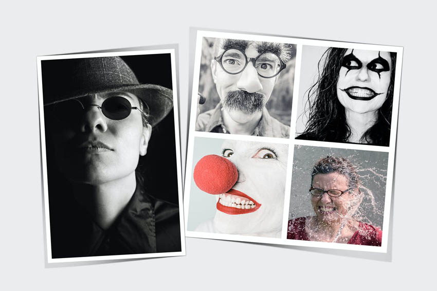 Photoshop Collage Template Collection