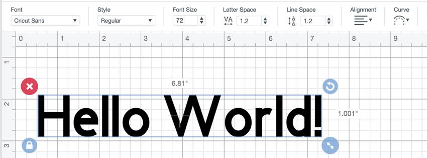 Cricut Font Options