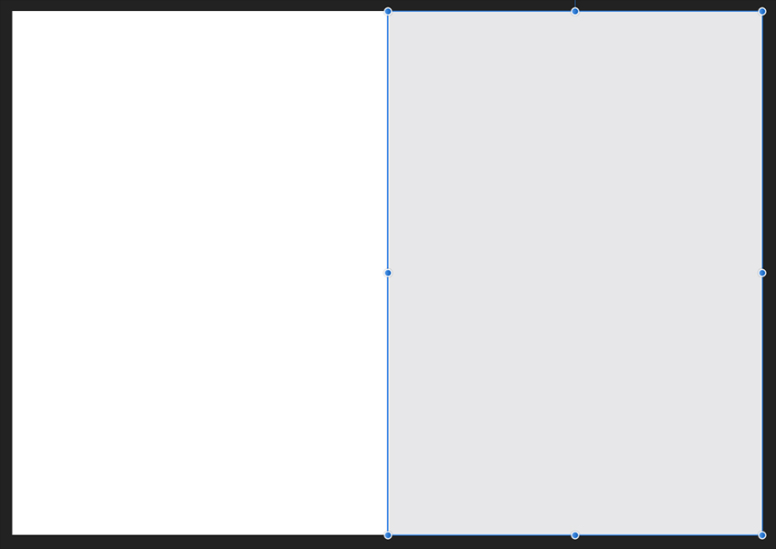 Affinity Designer Greeting Card Template Fill Rectangle