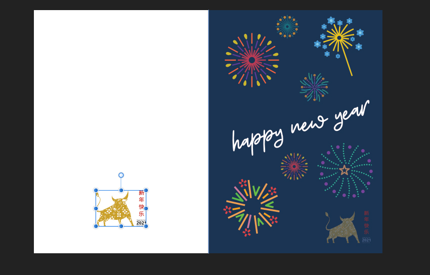 Affinity Designer Greeting Card Place Ox