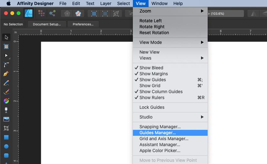 Affinity Designer Template Guide