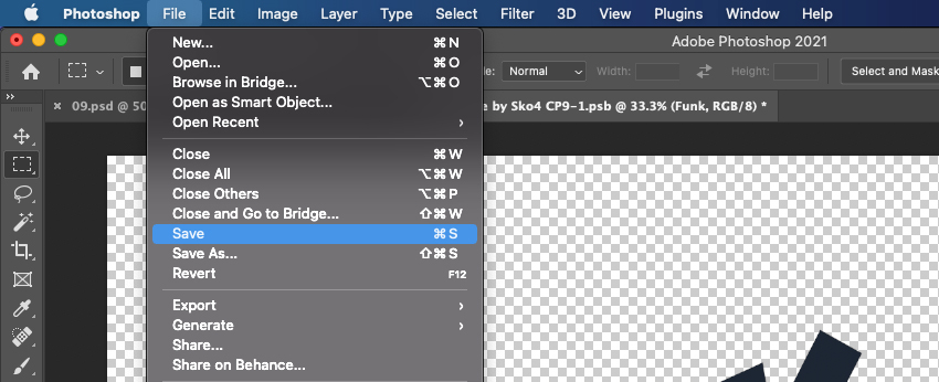How To Rotate Smart Object Text in Photoshop Save