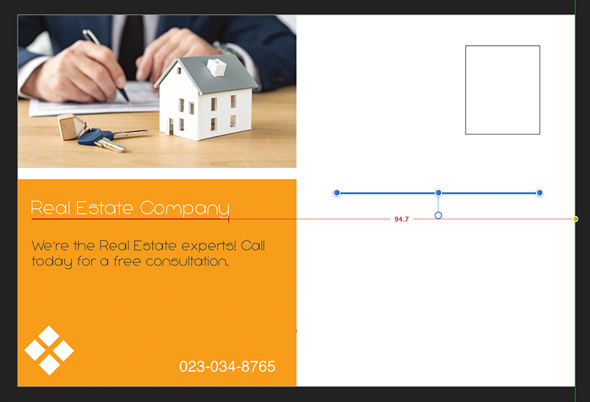 Affinity Publisher Real Estate Postcard