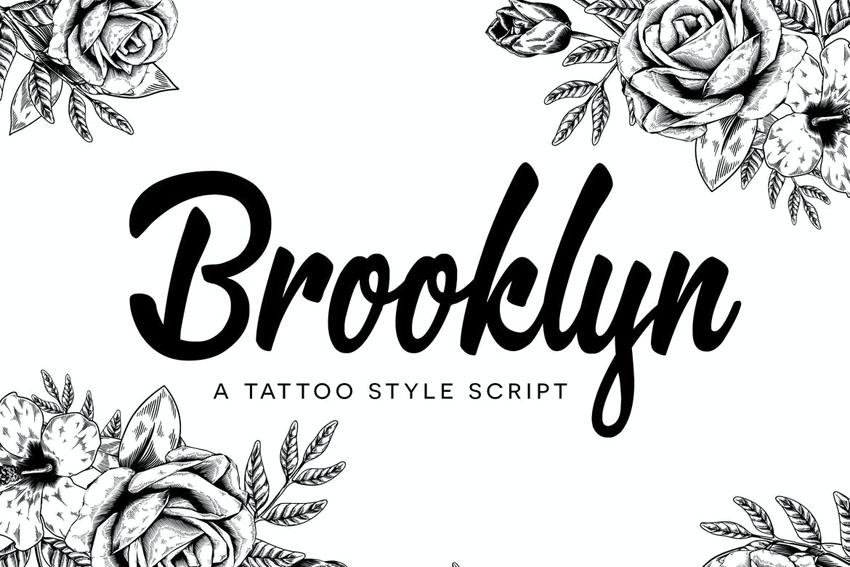 Brooklyn Cricut Script Font