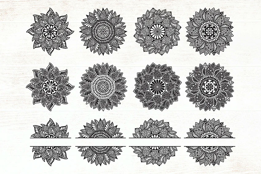Envato Elements Mandala SVG