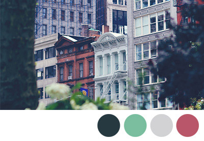 Choosing colors preview