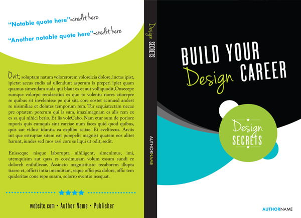 Free Creative Book Cover Template : How to create a book template in indesign