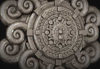 Preview for Create an Intricate Mayan Flower using ZBrush