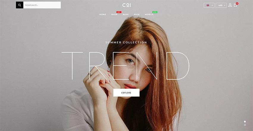 Coi - Fashion WooCommerce Theme