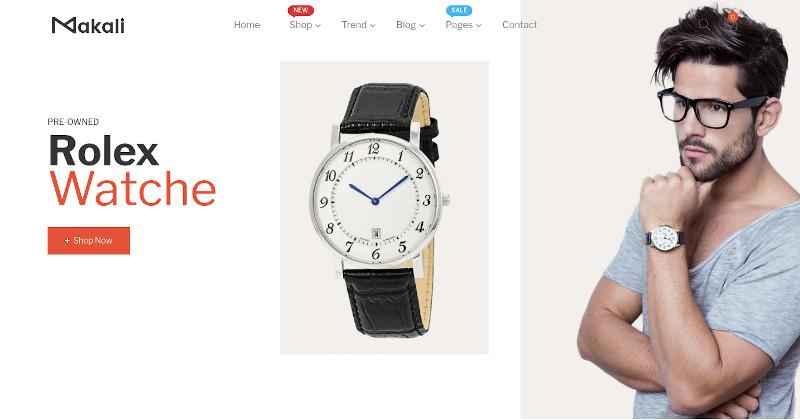 Makali - Multipurpose Shopify Theme