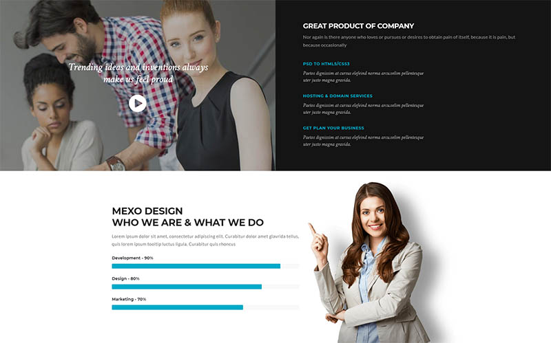 Consulta - Professional Business  Financial WordPress Theme