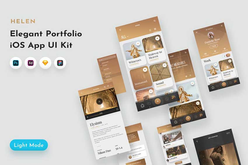Helen iOS UI Kit