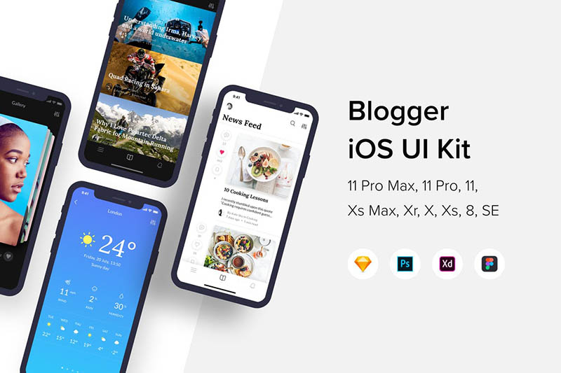 Blogger iOS UI Kit