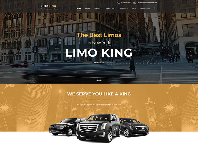 Limo King - Limousine  Transport  Car Hire