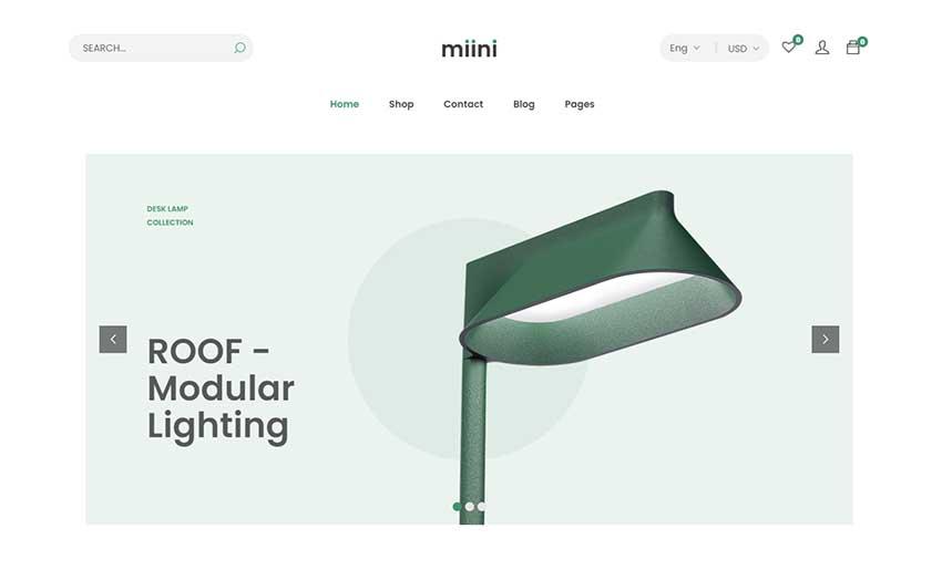 Miini - A Minimal WooCommerce Theme