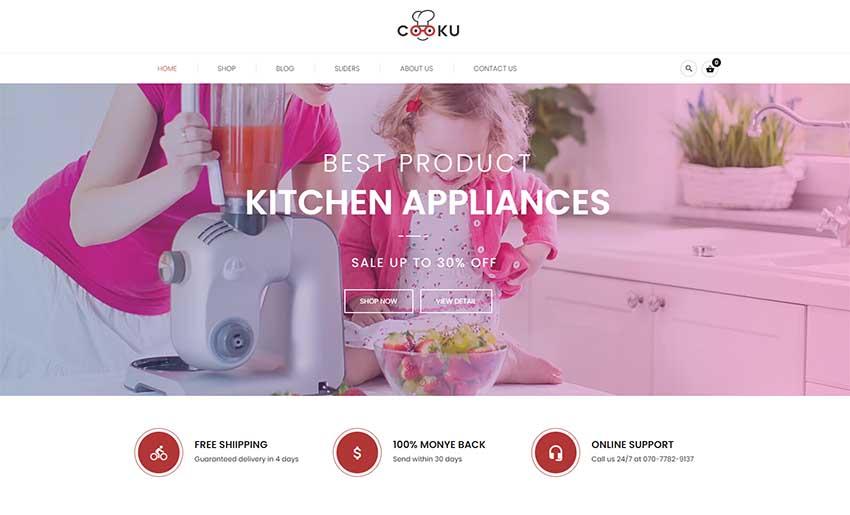 VG Cooku - Clean, Simple WooCommerce WordPress Theme