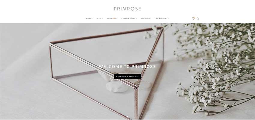 Primrose - Minimal WooCommerce Theme