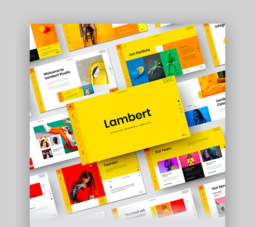 Lambert – Creative Business Google Slides Template