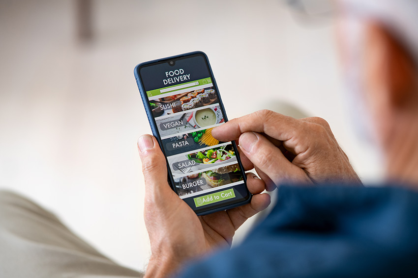 Check out these tips when you're looking for food app templates.