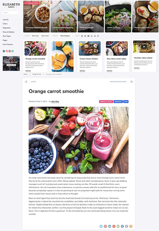 Pluto - Personal Masonry Blog Theme for WordPress