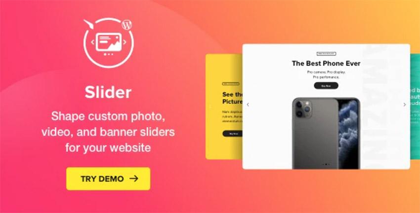 Slider - Image Slider WordPress