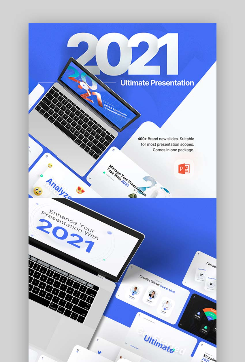 2021 Ultimate Multipurpose Premium PowerPoint Presentation Template